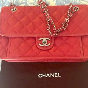 Chanel riviera bag jumbo flap
